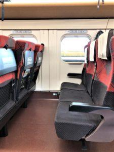 E7系とき号普通席車内